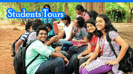 students tour
